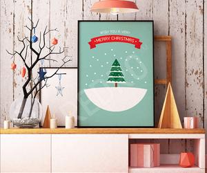 Christmas time, christmas tree, and colors image