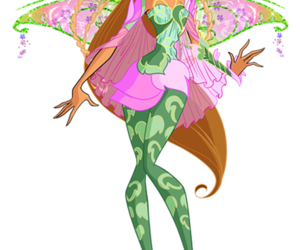 flora, winx club, and world of winx image