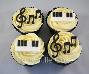 cupcakes, exam, and keyboard image