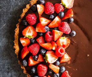 chocolate, FRUiTS, and food image