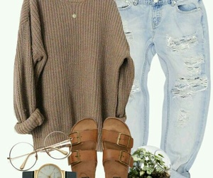 casual, outfits, and cozy image