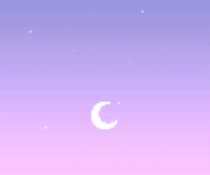 wallpaper, moon, and pixel image