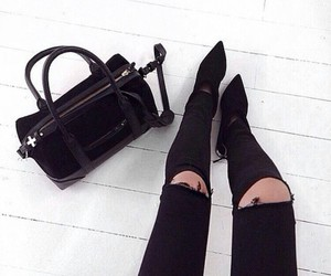 aesthetic, shoe, and bag image