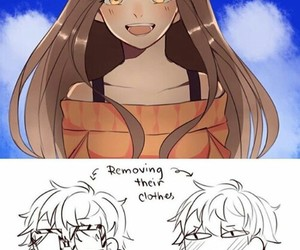 mystic messenger, Mc, and seven image