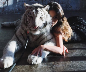 animal and girl image