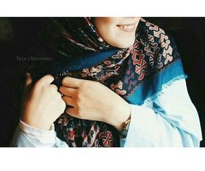 hijab style, islam muslimah, and حجاب image