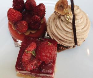 food, dessert, and fruit image
