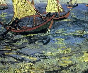 art, boats, and detail image