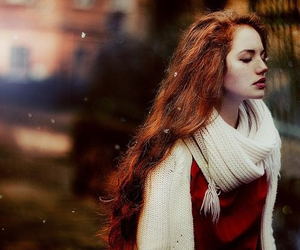 ginger, girl, and red hair image