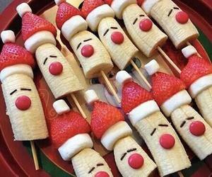 christmas, food, and fruit image