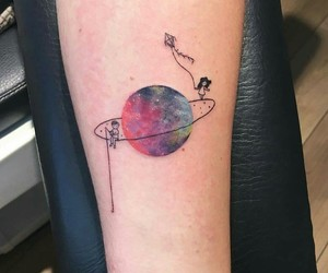 tattoo and galaxy image