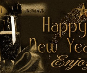 enjoy, happy, and new year image