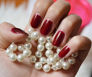 christmas, pearl, and designe image