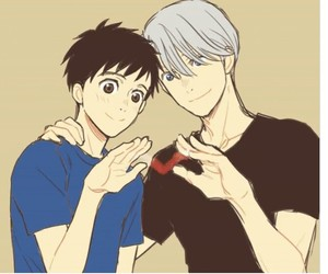 yuri on ice victuuri image