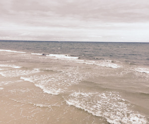 waves, beach, and nature image