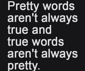 quote, true, and pretty image