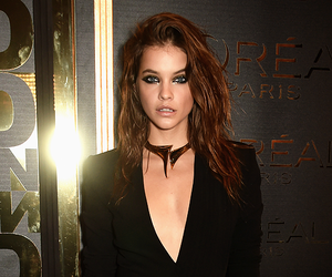 black dress, barbara palvin, and dress image