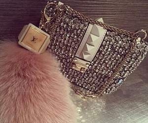 bag, purse, and luxury image