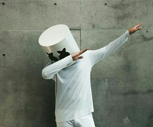 marshmello and dab image
