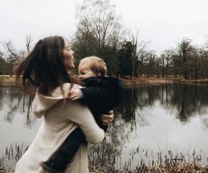 baby boy, girl, and sweet image
