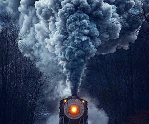 photography and train image
