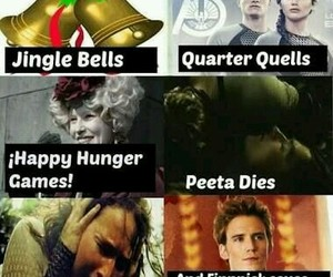 books, hunger games, and funny image