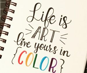 art, color, and life image