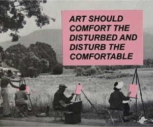art, quotes, and pink image