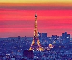 beautiful, colorful, and eiffel image