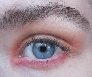 grunge, eye, and pale image