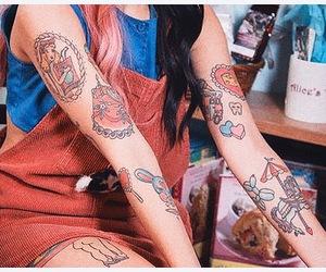 tattoo, melanie martinez, and cry baby image