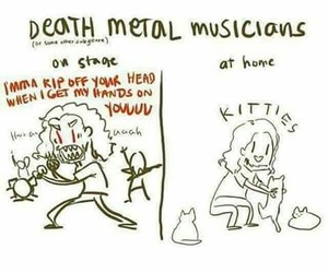 death metal and funny image
