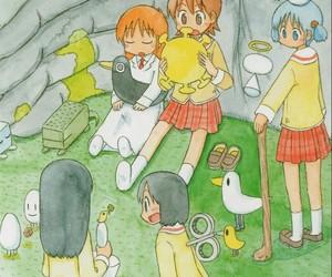 anime, anime girl, and nichijou image