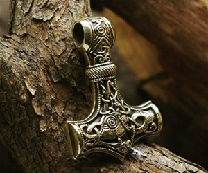 pagan, thor, and viking image