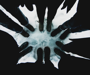 grunge, black, and winter image