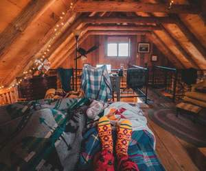 brown, cosy, and home image