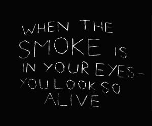 smoke and the 1975 image