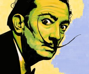 dali and pop art image