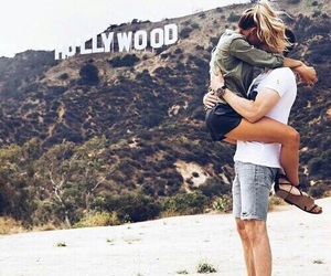 love, couple, and hollywood image