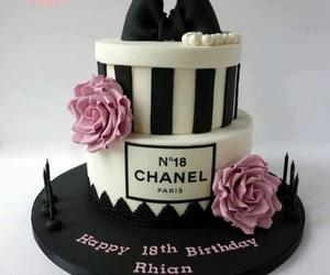 birthday cake and chanel image