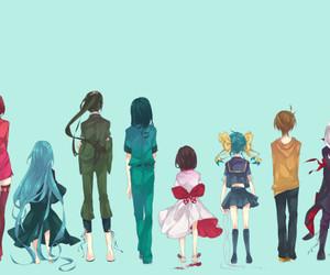 anime, zaregoto series, and monogatari image