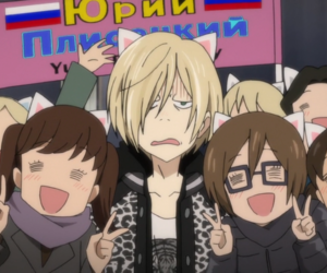 anime, yuri on ice, and yurio image