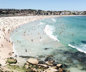 australia, beach, and sidney image