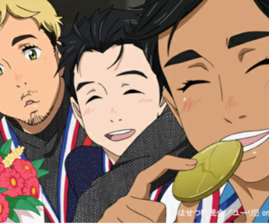 yuri on ice, anime, and yuri!!! on ice image