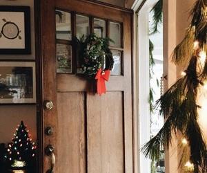 candy, christmas lights, and christmas tree image