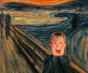 art, scream, and home alone image