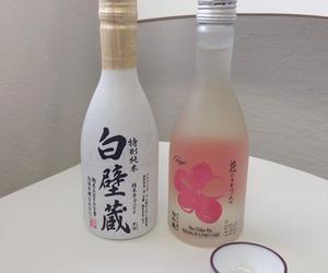drink, japanese, and sake image
