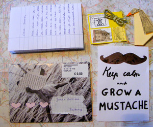 letters and postcard image