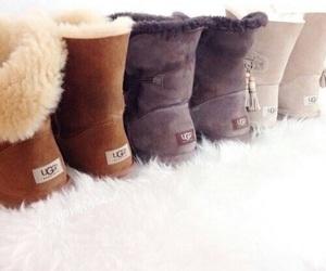 boots, fashion, and ugg image