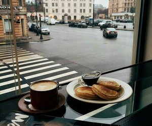 cafe, street, and churros image